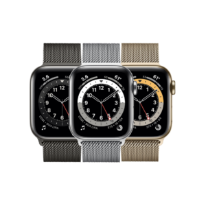 Apple Watch Serie 6 in acciaio